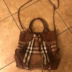 Burberry Bridle House Whipstitch Tote